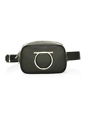 COACH - Signature Jacquard   Leather Belt Bag - saks.com ffd4304edc5c1