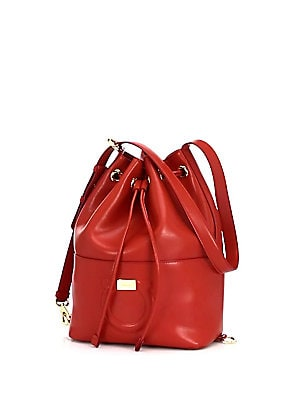 Salvatore Ferragamo - City Bucket Bag - saks.com 7b6bdc4fe0e79