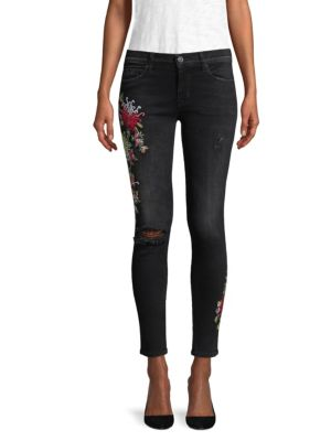 Nico Embroidered Jeans