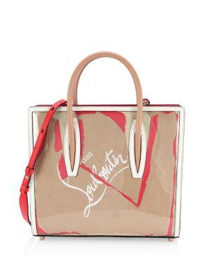 Paloma Medium Kraft Loubi Tote Bag, Multi