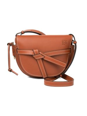 Small Gate Leather Crossbody Bag by Loewe
