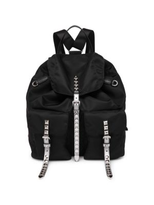 f1256ede940b Prada - Small Nylon Backpack - saks.com