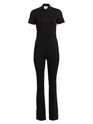 fc02bb33d381 ML Monique Lhuillier - Cold-Shoulder Jumpsuit - saks.com