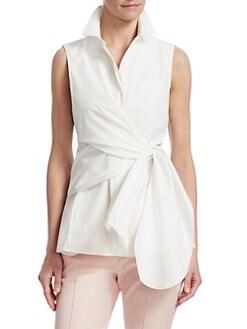 645844d3acfa45 Short Sleeve Tops For Women | Saks.com