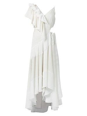 Loewe - Check   Stripe Shirt Dress - saks.com ccdfef728