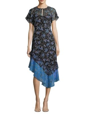 Desdemona Silk Dress by Nanette Lepore