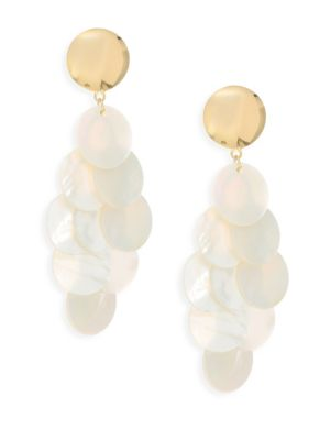 Nest Mother-of-Pearl Clip-On Earrings