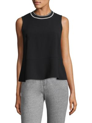 Rag And Bone Black Priya Tank Top