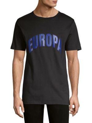 ETUDES STUDIO Etudes Black Page College Europa T-Shirt