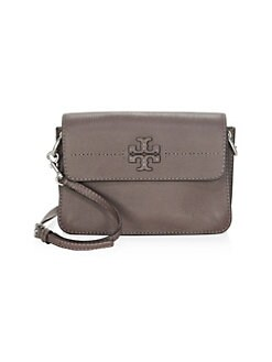 Quick View Tory Burch Leather Mini Crossbody Bag