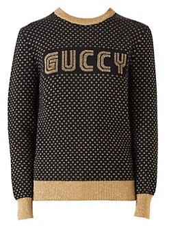 Guccy SEGA Knit Sweater BLACK. Product image