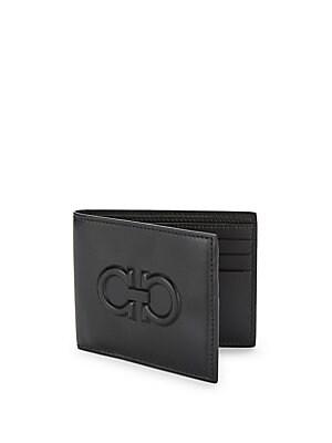 d554187c0c75 Salvatore Ferragamo - Firenze Logo Leather Bi-Fold Wallet - saks.com