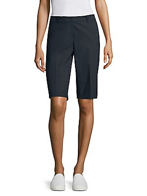 e998fe67ad Lafayette 148 New York - Manhattan Slim-Fit Bermuda Shorts