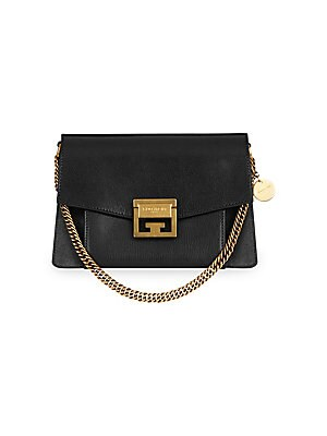 Givenchy Gv3 Small Leather Shoulder Bag