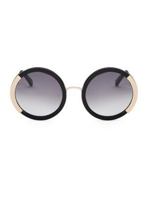 Balmain  54MM Round Gradient Sunglasses