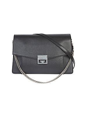 8cef7f0e4a Givenchy - Medium Patent Leather GV3 Crossbody Bag - saks.com
