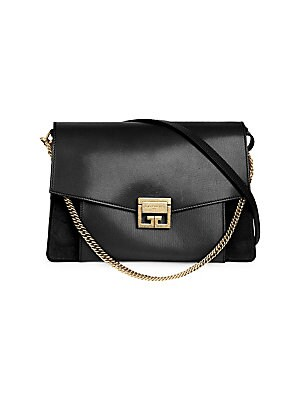 866456dc9014 Givenchy - Small GV3 Quilted Leather Bag - saks.com