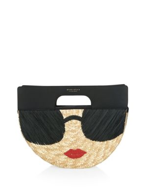 Stace Face Clutch by Alice + Olivia