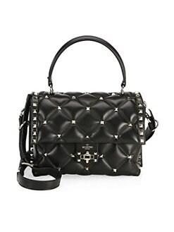Valentino Garavani. Candystud Top Handle Bag 59b8cdb25bfb5
