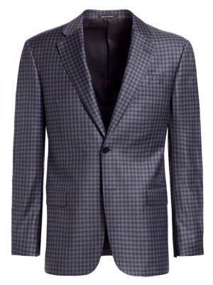 Emporio Armani Blue Check G Line Sportcoat