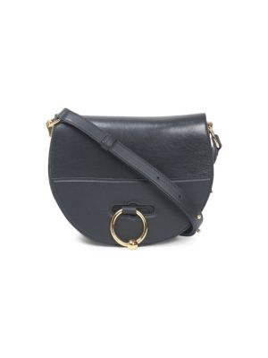 J.W.ANDERSON Jw Anderson Black Latch Leather Cross Body Bag