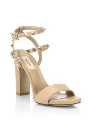 Rockstud High Heel Sandals by Valentino Garavani