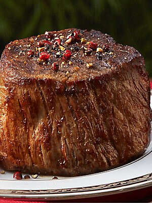 Image of ONLY AT SAKS A premium angus cut that's sure to please any steak connoisseur. Includes: One 6oz filet All frozen, ready to cook Shelf life: 6 months frozen Made in USA. Drop Ship Prgrm - Food > Saks Fifth Avenue. Chicago Steak Company.