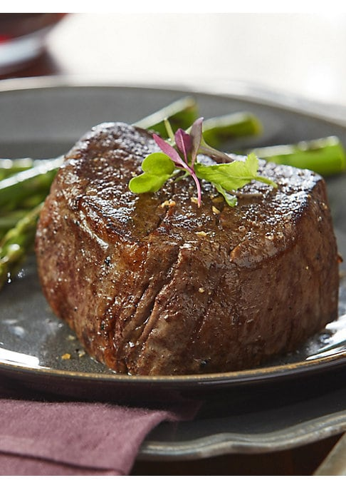 Image of This assortment of beef for sale online includes a balanced collection of grilling treats which make the perfect gift for friends, family, colleagues, or even yourself. We start with our complete trimmed and 'Oh-So-Tender' Filet Mignons. Includes: Two 6 o