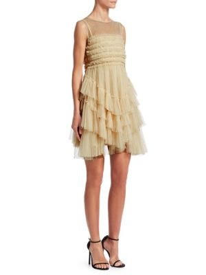 Multi Layer Tulle Dress by Red Valentino