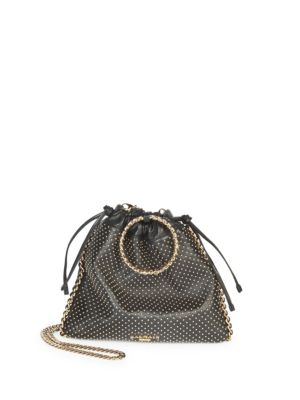 Studded Leather Backpack by Balmain
