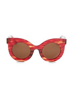 df859b7426 Andy Wolf. Millicent 49MM Thick Frame Cat Eye Sunglasses