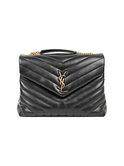 bca6cf24c6 Saint Laurent. Medium Lou Lou Chain Strap Shoulder Bag