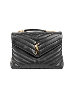 138862743b0 Saint Laurent. Medium Loulou Matelassé Leather Shoulder Bag