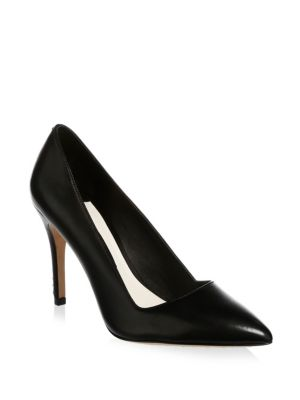 Dina 95 Whipstitch Pointy Toe Pump in Black