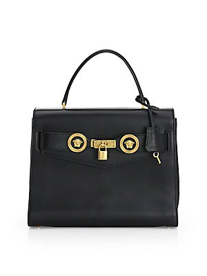 e64bcb0803 Versace - Leather Vitello Baroque Tote Bag - saks.com