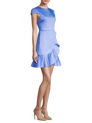 Kirby Ruffled Dress by Alice + Olivia