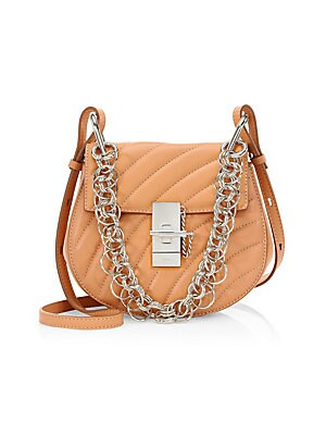 26eb67105d Chloé - Small Drew Quilted Leather Saddle Bag - saks.com