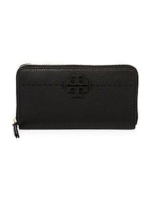 34b69397e80dec Dolce & Gabbana - 3301 Continental Leather Zip Wallet - saks.com