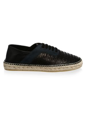 Textured Leather Espadrille by Jimmy Choo