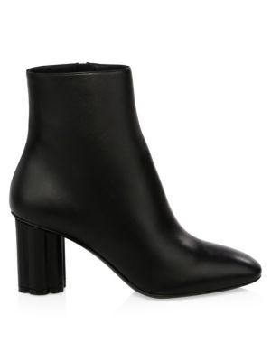 Molfetta Leather Ankle Boots by Salvatore Ferragamo