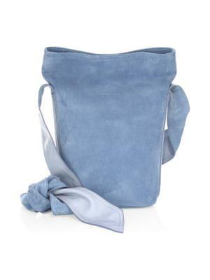 Elena Ghisellini Caddy Suede Bucket Bag