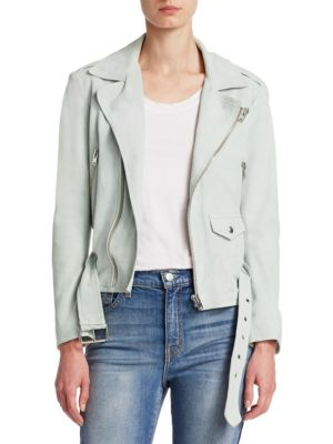 Guape Belted Leather Jacket by Iro