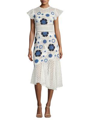Sea  Figgy Floral Midi Dress