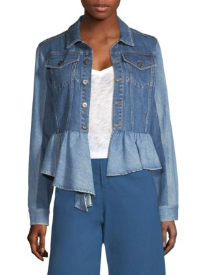 Sea  Two Tone Denim Jacket