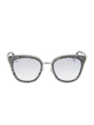 63 Mm Lizzy Square Sunglasses by Jimmy Choo