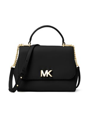 Michael Kors Mott Medium Satchel, Black