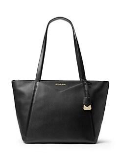 3c81bcdc0f8d68 QUICK VIEW. MICHAEL Michael Kors. Large Leather Tote Bag