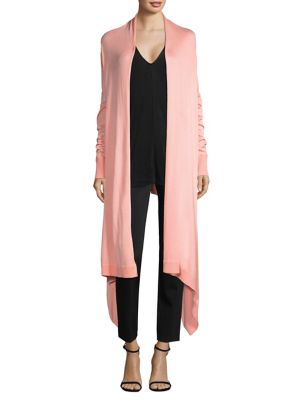 Donna Karan  Cozy Long-Sleeve Duster Cardigan
