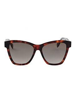 010d08441 Fendi. 55MM Oversized Cat Eye Sunglasses
