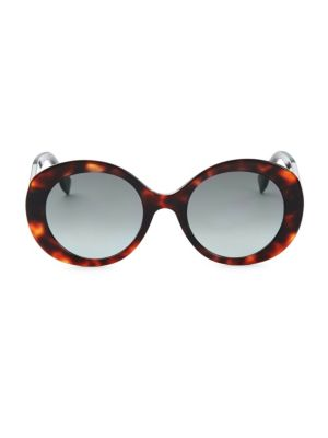 Fendi 52mm Round Sunglasses